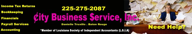 Local Tax Service Baton Rouge Accounting Professionals