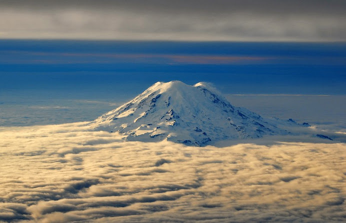 Mt. Rainier Above the Clouds