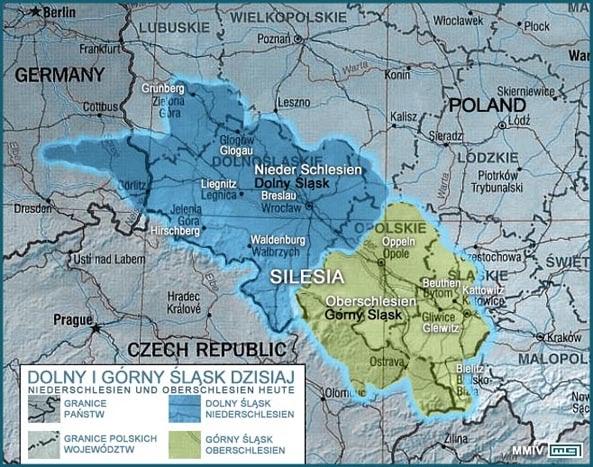 Gdzie jest Górny a gdzie Dolny Śląsk