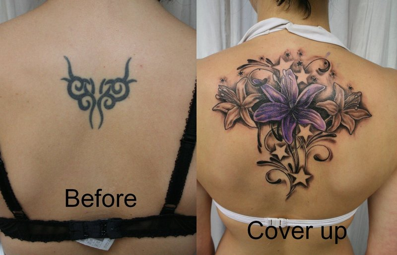 Tattoo Cover Up Advice Tattoo is a permanent mark on the body for life