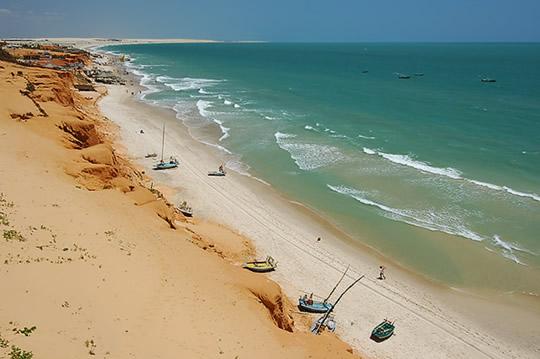 Praia de Canoa Quebrada - Fortaleza