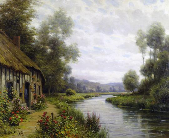 Paisagens do campo em lindas pinturas - 04