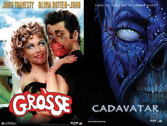 Sucessos do cinema na versão zumbi - 03