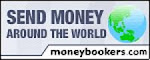 Money Bookers Safe and Secure Online Payments Options. Send Money Around The World. Click Here.
