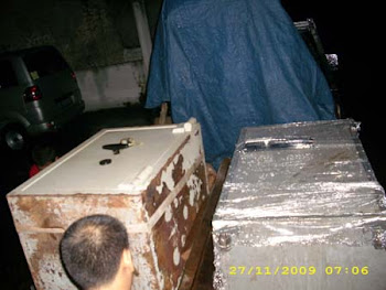 Pindahan Brandkas ATM,Chubb Kasteel III, Ito