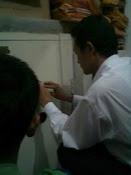 Seting Kode brandkas Chubbsafes di BRI unit Pejuang Bekasi Utara