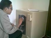 Seting Kode brandkas New Cartenz di PPA Darul Quran Bogor