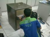 Bongkar brandkas Ichiban Lupa Kode di Megah Buana Pancarona JATAKE Tangerang