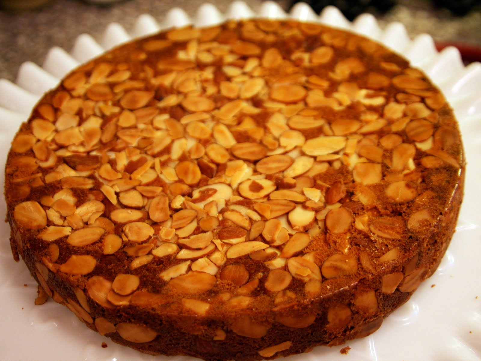 Almond Cake for Everyone (even the ones who don't like dessert ...