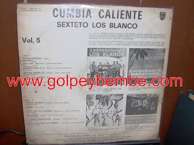 Los Blanco - Cumbia Caliente Back