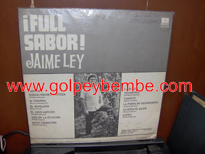Jaime Ley - Full Sabor Back