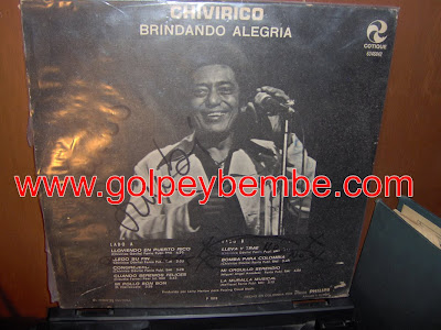 Chivirico Davila - Brindando Alegria Back