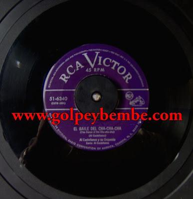 Al Castellanos y su Orquesta 45 RPM