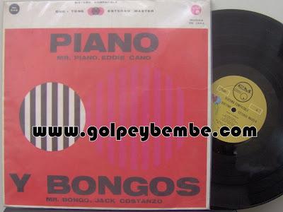 Eddie Cano - Piano y Bongos