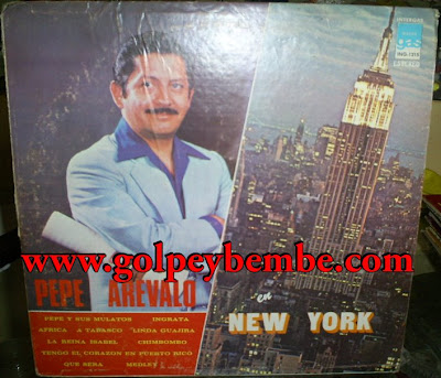 Pepe Arevalo - en New York