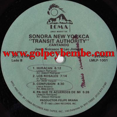 Sonora New Yorkca - Transit Authority