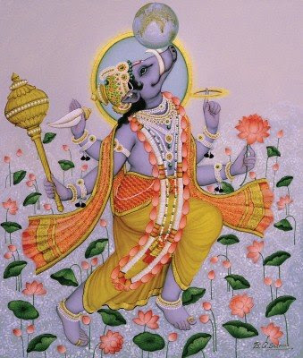 Varaha Avatar - The Boar - The Third Avatar of Lord Vishnu