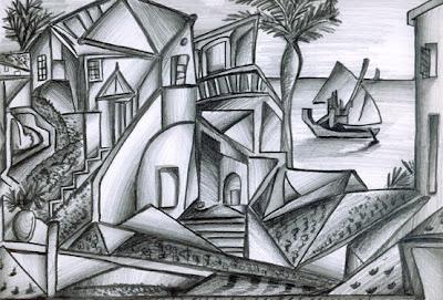 djaka aldiala for god sake!: Gradasi Dalam kubisme Picasso