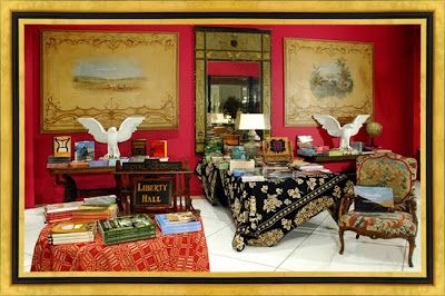 The Library At Maison Felice