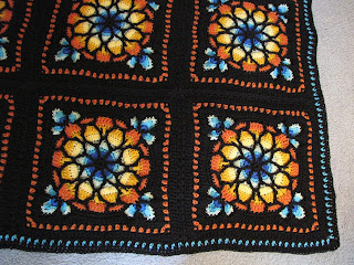 Stained Glass Afghan - The Crochet Crowd