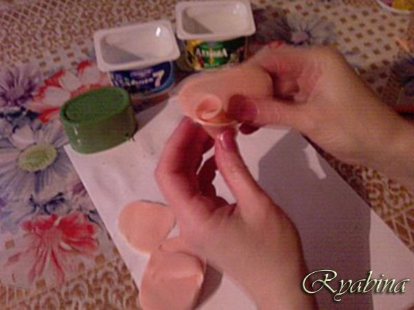 Цветок из мыла своими руками