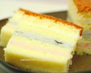 Rainbow Indiviudal Cakes Palermo Bakery