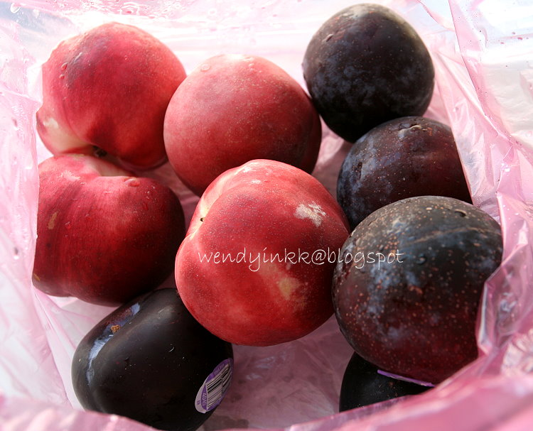 initially i wanted to make a plum cobbler well plums
