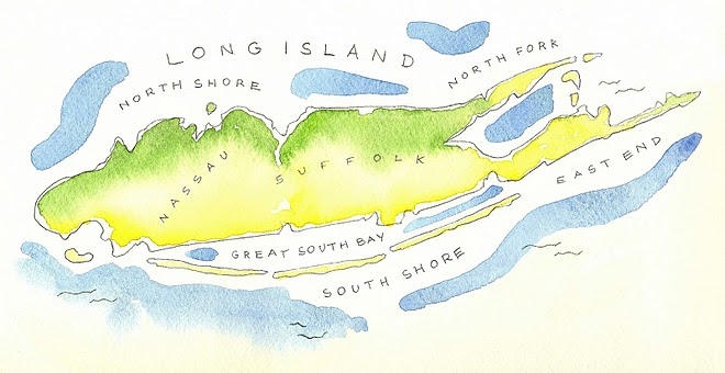 Long Island Watercolor by Anthony Faria