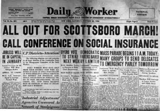 scottsboro boys trial essay In her essay on the march 25, 2011 commemoration activities marking the  to  see justice done: letters from the scottsboro boys trials.