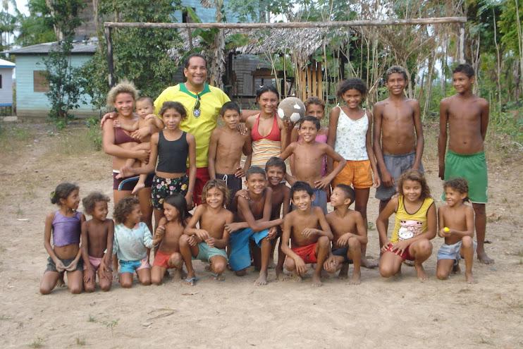 Crianças da Reserva Extrativista do Cajari/AP