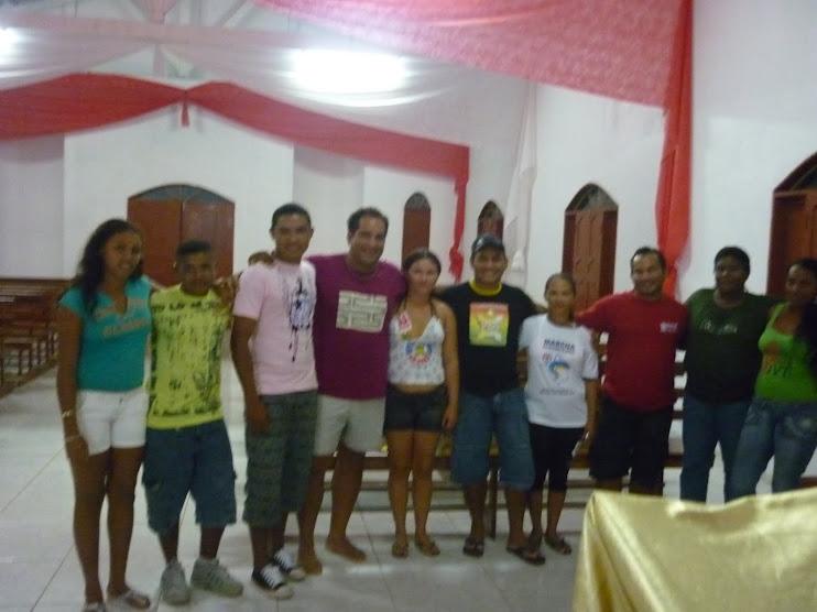 19/02/2010 - NossaCasa Digital do Rio Macacoari (Município de Itaubal/AP)