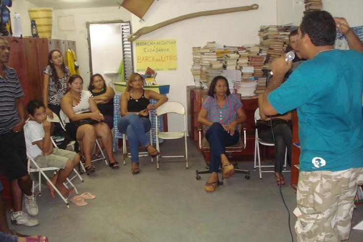 24/01/2009 - Pré-inauguração da Biblioteca-mãe BArca das Letras em Macapá