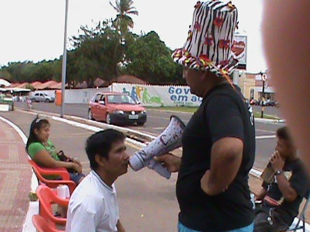 Rádio NossaCasa ouve os indígenas em frente ao Rio Amazonas - Macapá/AP
