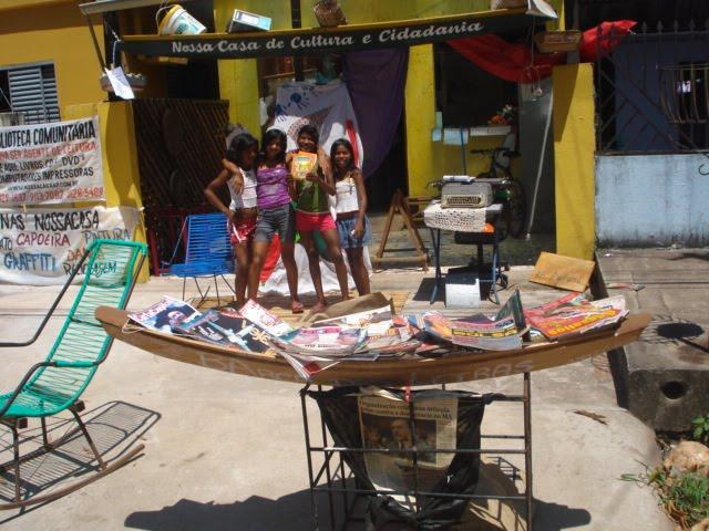 Democratizando o acesso ao livro às crianças da periferia de Macapá