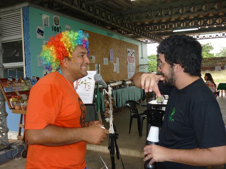 Rádio NossaCasa recebe galera do ICMBIO/Unidade RESEX CAJARI (Analista Nonato)