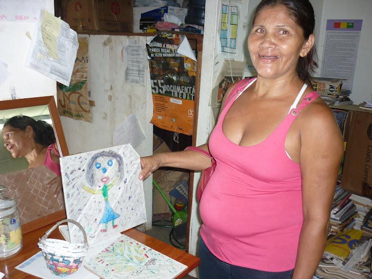 Mais uma doação artística vinda de uma Comunidade Ribeirinha Curuá do Bailique