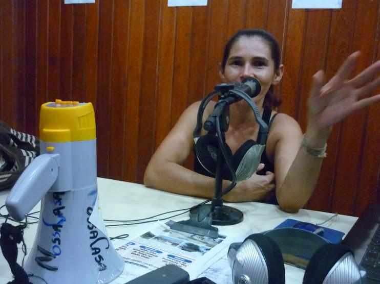 Comunicadora popular da NossaCasa Rita de Cácia