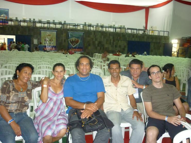 Delegação da NossaCasa e amigos na 8ª Oficina de Inclusão Digital - Belo Horizonte - outubro/2009