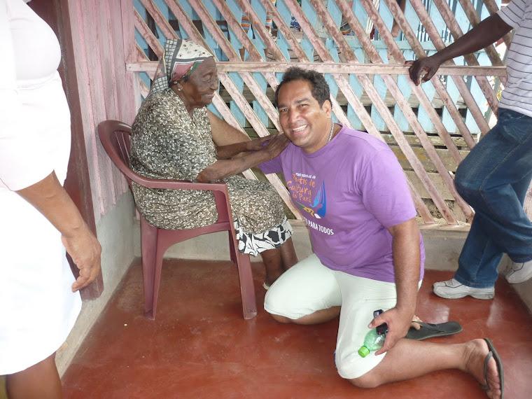 Mochileiro Tuxáua em Mazagão Velho - Amapá