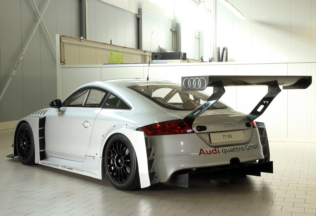 Audi Tt Rs Prototype Race Car To Make Test Debut Quattroholic Com