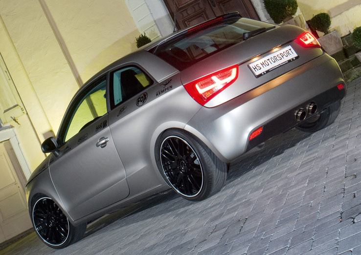 Hs Motorsport Reveals Audi A1 Tuning Program
