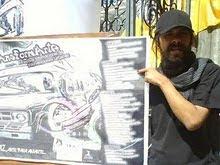 """El interventor en el Festival de Intervenciones Urbanas """"Transformarte"""" (La Paz - Bolivia)"""
