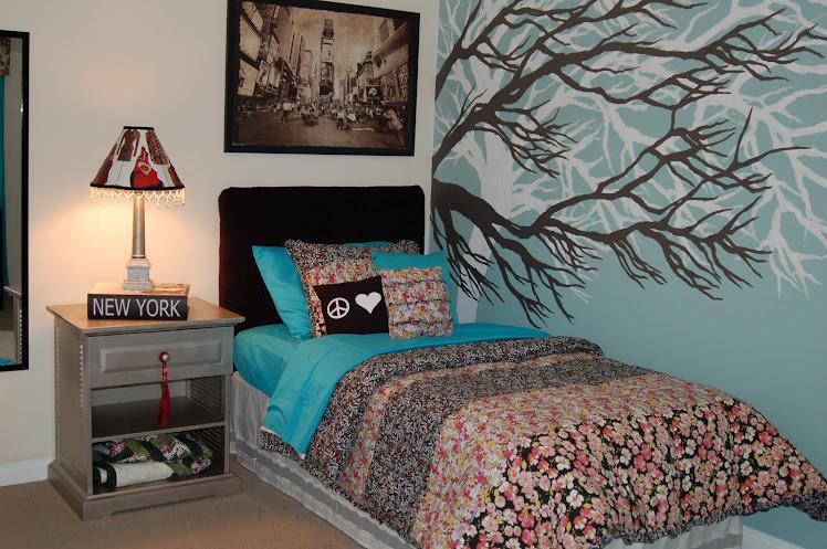 Furnishing Hope-Girl's Central Park bedroom