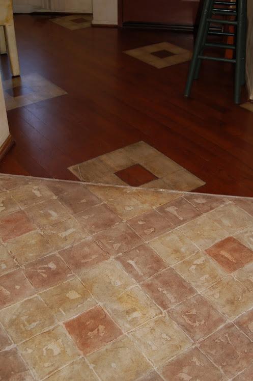 Custom Hand Painted Concrete & Wood flooring