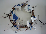 A Blue Monday Wreath