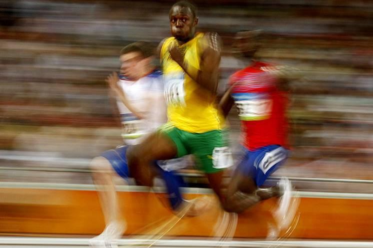 foto carrera velocidad: