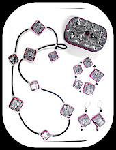 Zebra Print Jewelry Set w/ Trinket box