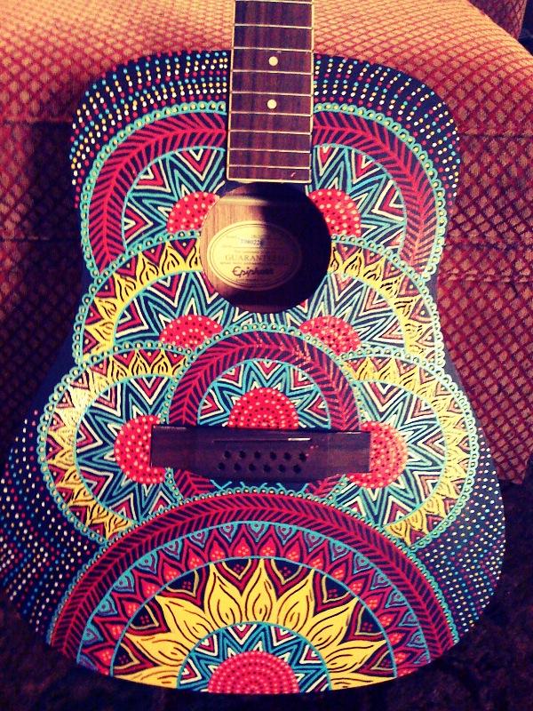 Guitar Designs Art : Red lotus designs lexington ky  redlotushenna