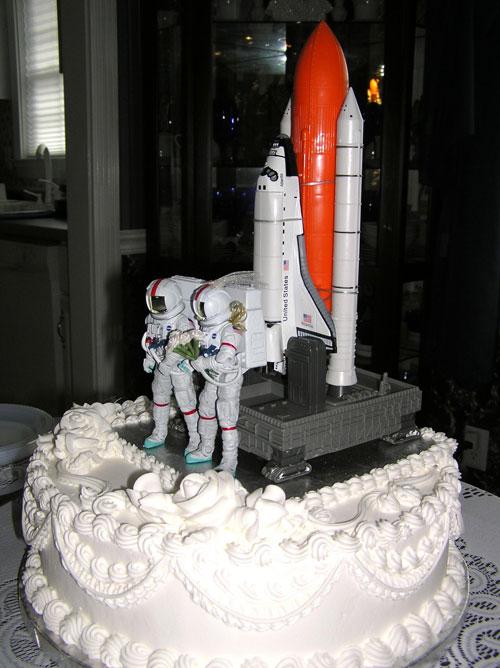 Astronaut Cake Topper