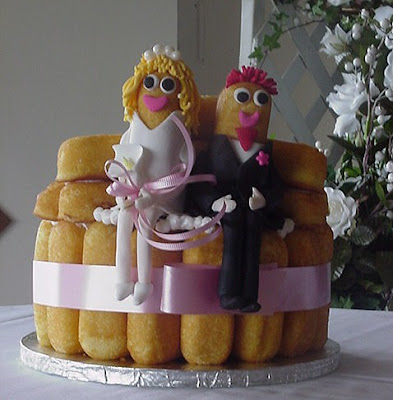 Bridetide Blog Wedding Resource Twinkie Wedding Cakes